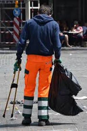 wat verdient een vuilnisman per maand
