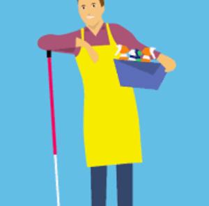 wat verdient een schoonmaker per uur aan salaris