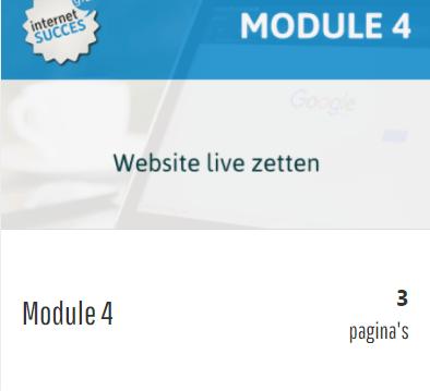 je website live zetten