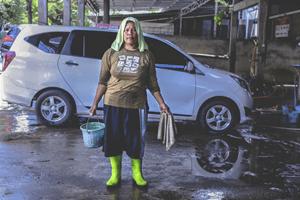 bijverdienen met auto's wassen