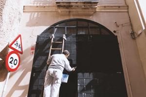 helpen met verven als schilder