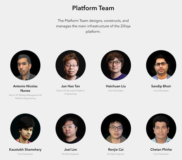 zilliqa developers team